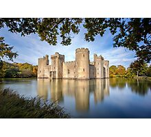 Bodiam Castle, East Sussex, England Photographic Print
