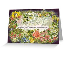 Northern Downpour Greeting Card