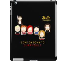 Buffy the Vampire Slayer as South Park iPad Case/Skin