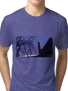 Congo Blue Tri-blend T-Shirt