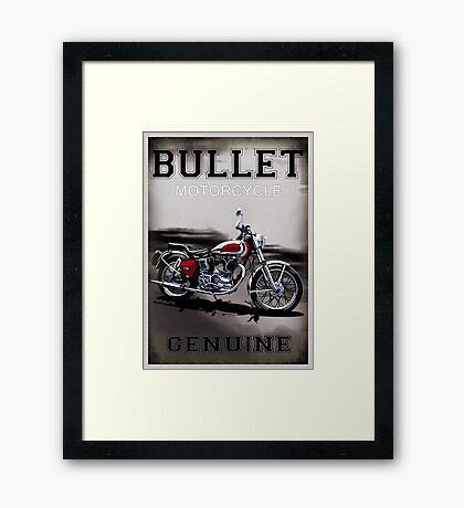 Genuine Bullet Framed Print
