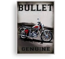 Genuine Bullet Canvas Print