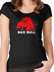 BAD BULL Women's Fitted Scoop T-Shirt