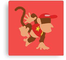 Smash Bros - Diddy Kong Canvas Print