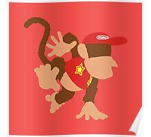 Smash Bros - Diddy Kong Poster