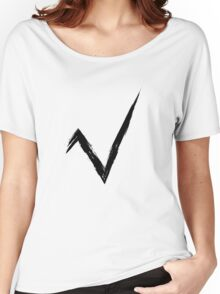 Square Root - Black Edition Women's Relaxed Fit T-Shirt