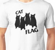 Black Flag Cat Unisex T-Shirt
