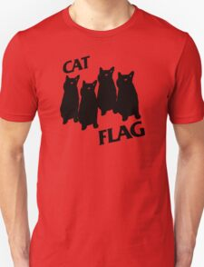 Black Flag Cat T-Shirt