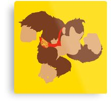 Smash Bros - Donkey Kong Metal Print