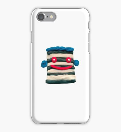 clay face8 iPhone Case/Skin