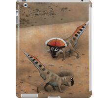 Protoceratops Confrontation iPad Case/Skin