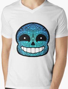 Sans Sugar Skull Undertale #2 Mens V-Neck T-Shirt