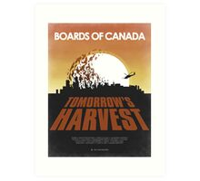 Boards of Canada - Tomorrow's Harvest  Art Print