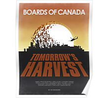 Boards of Canada - Tomorrow's Harvest  Poster