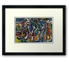 Speculative Fiction #6, 2015 Framed Print