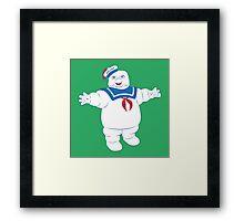 Marshmallow Man Framed Print