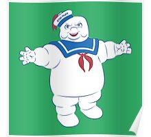 Marshmallow Man Poster