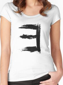 Existential Quantifier - Black Edition Women's Fitted Scoop T-Shirt
