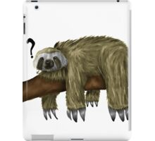 Confused Sloth iPad Case/Skin