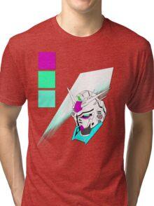 Radiant Mecha Tri-blend T-Shirt