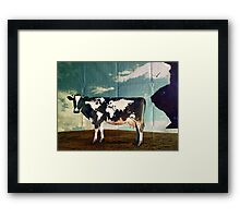 Surreal Bovine Atlas Framed Print
