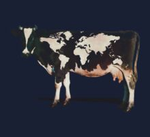 Surreal Bovine Atlas Kids Tee