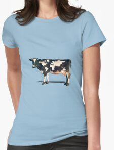 Surreal Bovine Atlas Womens Fitted T-Shirt