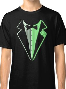 Glow In The Dark Tuxedo Classic T-Shirt