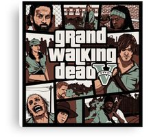 Grand The Walking Dead Canvas Print