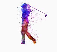 man golfer swing silhouette T-Shirt