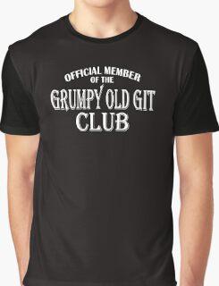Grumpy Old Git Club Graphic T-Shirt
