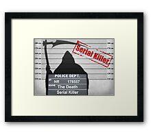 Death arrested Framed Print