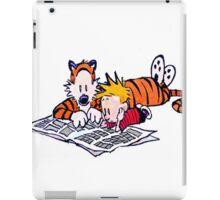 calvin y hobbes iPad Case/Skin