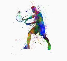tennis player in silhouette 01 T-Shirt