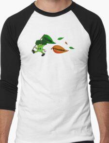 Vegan Power Men's Baseball ¾ T-Shirt