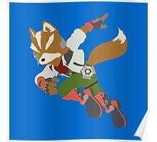 Smash Bros - Fox Poster