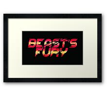 Beasts Fury Framed Print