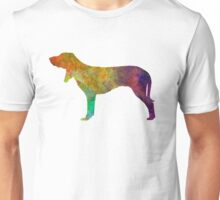 Swiss Hound in watercolor Unisex T-Shirt
