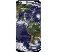 Full Earth showing North America and South America.  iPhone Case/Skin