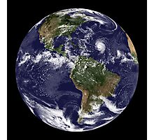 Full Earth showing North America and South America.  Photographic Print