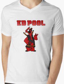 Ed Pool Mens V-Neck T-Shirt