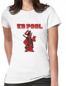 Ed Pool Womens Fitted T-Shirt