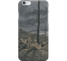 John_Martin_-_The Destruction of Sodom and Gomorrah, iPhone Case/Skin