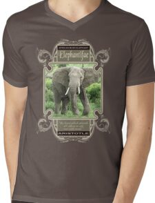 elephant Mens V-Neck T-Shirt