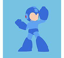 Smash Bros - Mega Man Photographic Print