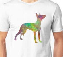 Xoloitzcuintle in watercolor Unisex T-Shirt