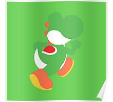 Smash Bros - Yoshi Poster