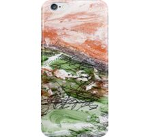 Sunset over Green Hills 4 iPhone Case/Skin