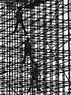 Working on the scaffold by awefaul