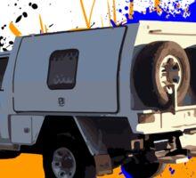 4WD - Nissan Sticker